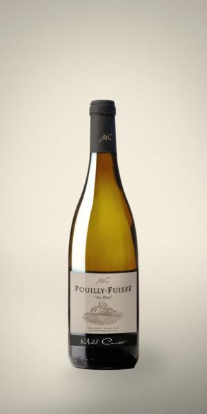 """POUILLY FUISSE """"Les Riats"""" Bouteille 75 cl"""